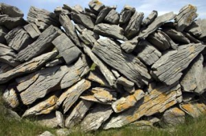 Burren Rock Wall, Ireland