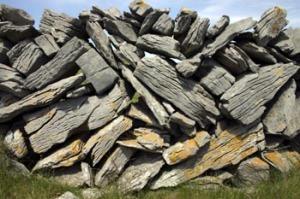 Burren Rock Wall, Ireland