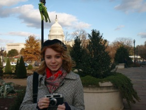 Andei taking Photos in DC