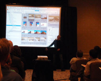 Photoshop Demo at Conference