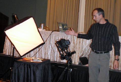 Digital View Camera Demo - SPE Conference
