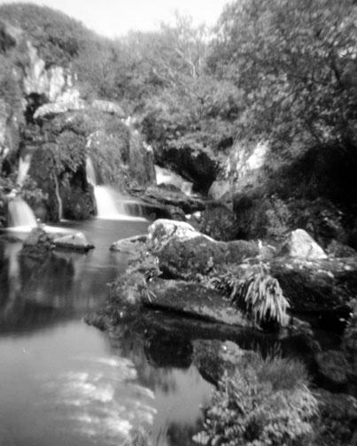 Waterfall Behind Anam Cara Artists Retreat, Beara