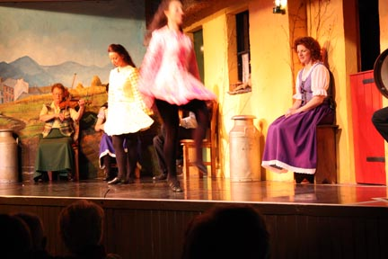 Traditional Irish Step Dancing, Bunratty Irish Night by Andei