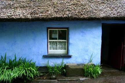 Thatched Cottage, Bunratty Ireland by Andei Keough