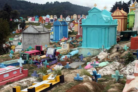 Cemetery in Guatemala