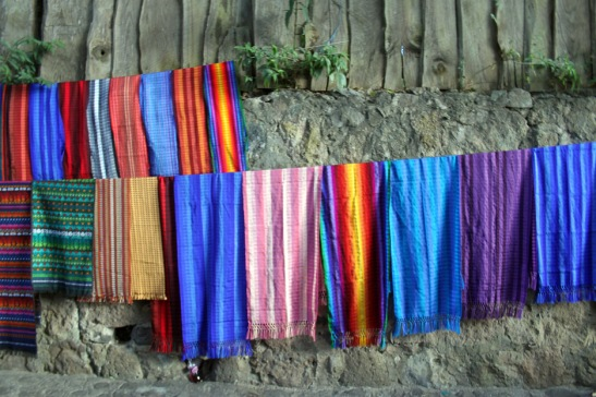Colored Cloth and Wall
