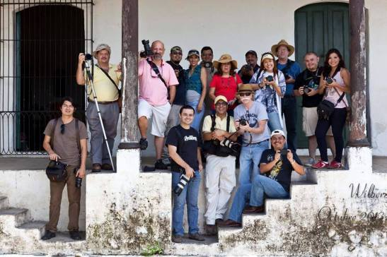Group Photo of Photographers on Photo Walk in Suchitoto by Walber Joshua