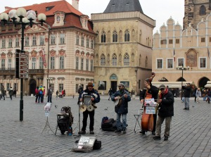 Street Musicians Old Town