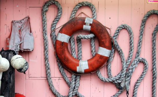 Ropes and Life Preserver