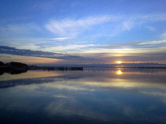 Sunrise Bogue Sound
