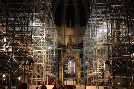 St. Patrick's Cathedral Under Renovations