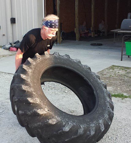 Flipping Truck Tires! Who would have thought?