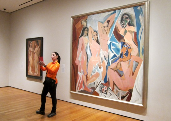 selfie-with-picasso