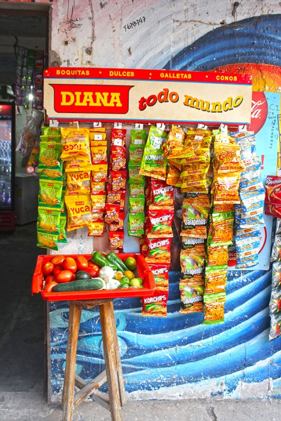 Snacks and Fruit, El Zonte El Salvador